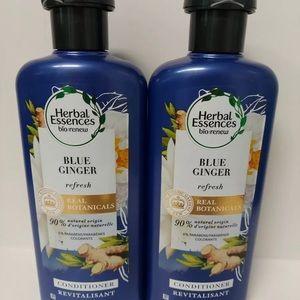 Lot of 2 Herbal Essences Blue Ginger Conditioner